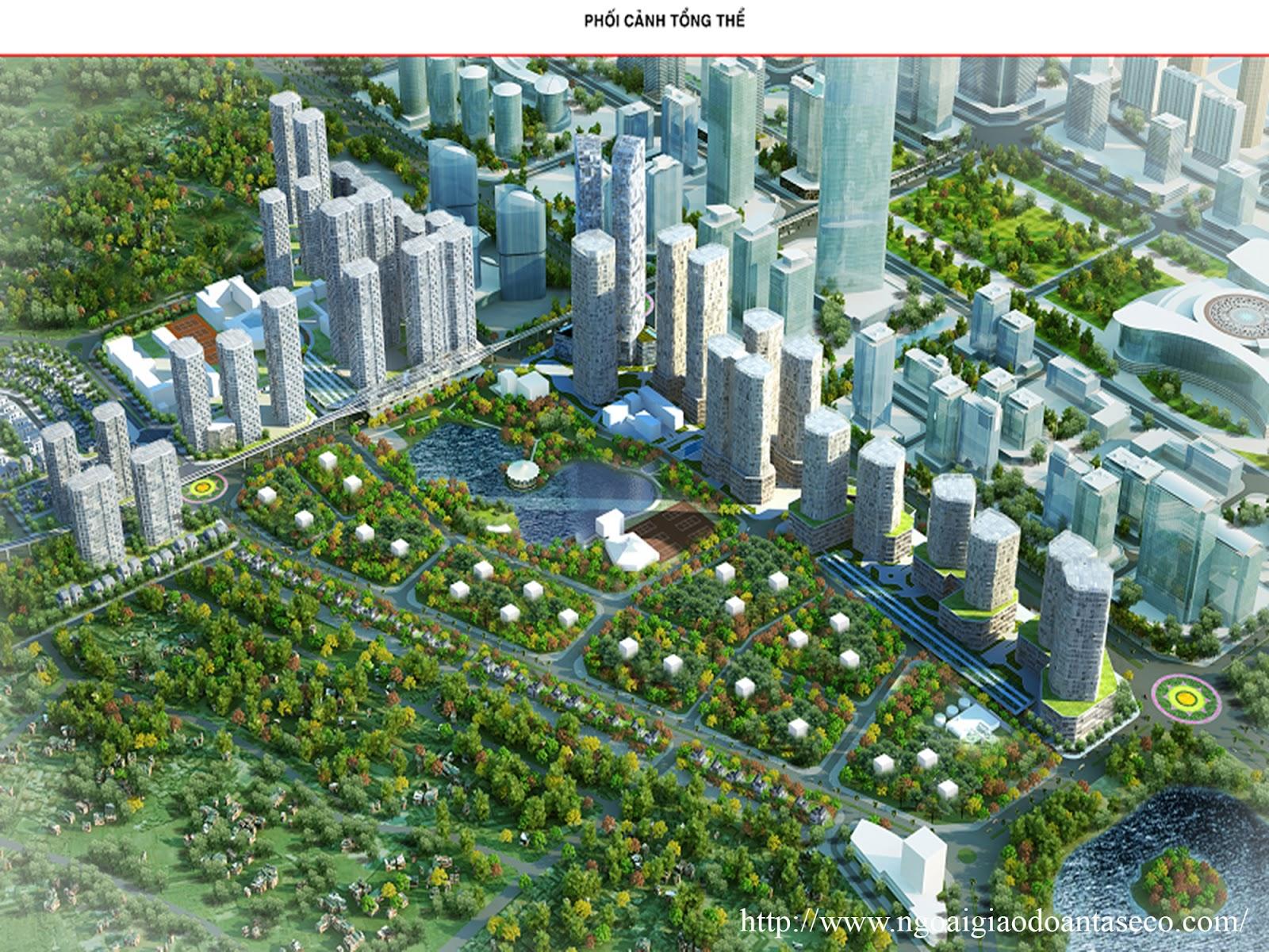 Giới thiệu dự án Ngoại Giao Đoàn - Khu đô thị Ngoại Giao Đoàn Hà Nội