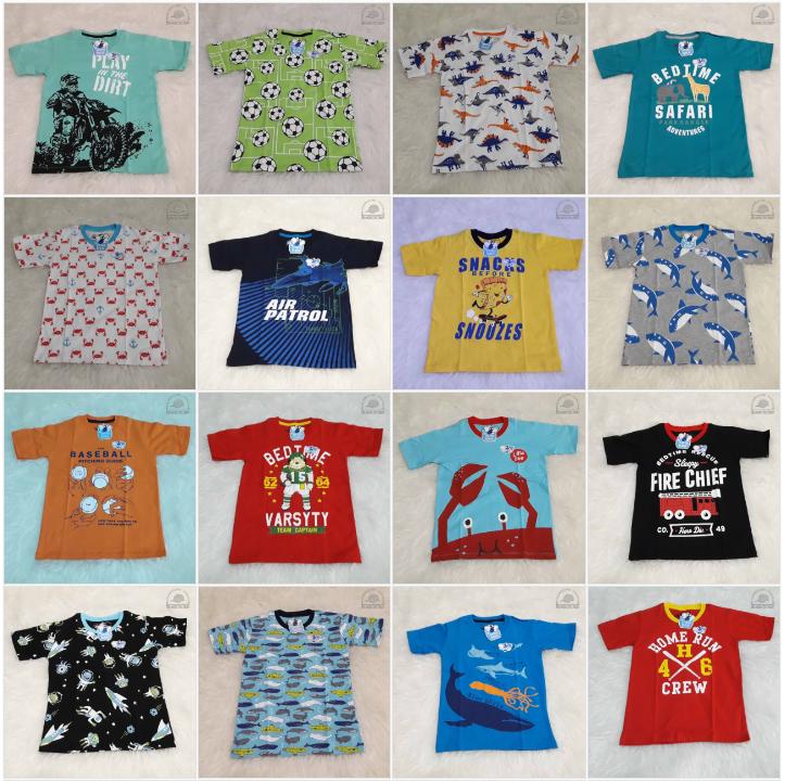 Baju Kaos Tangan Pendek Anak Cowok Laki Keren Branded Murah