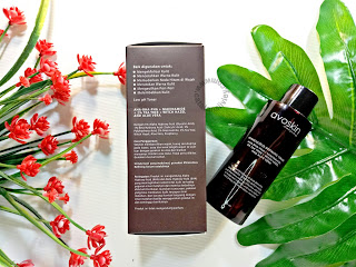 avoskin miraculous refining toner packaging samping
