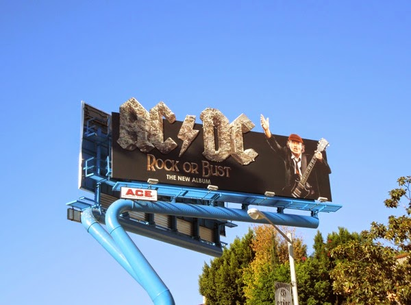AC/DC Rock or Bust special billboard