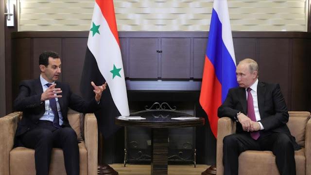 """Rusia rechaza """"rumores"""" difundidos por Israel sobre Al-Asad"""