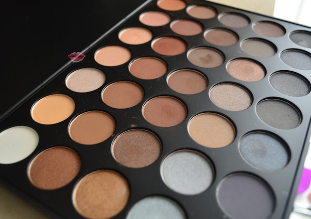 A picture of 35 Color Koffee Eyeshadow Palette by Morphe Brushes