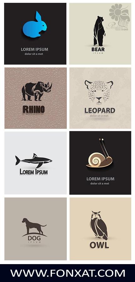 Download logo vector illustrations of animals