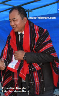 Lalchhandama Ralte Education Minister