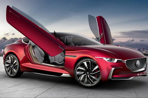 Tinuku MG Motor announced E-Motion EV coupe concept at Shanghai Auto Show