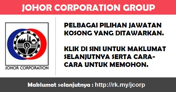 Jawatan Kosong di Johor Corporation Group