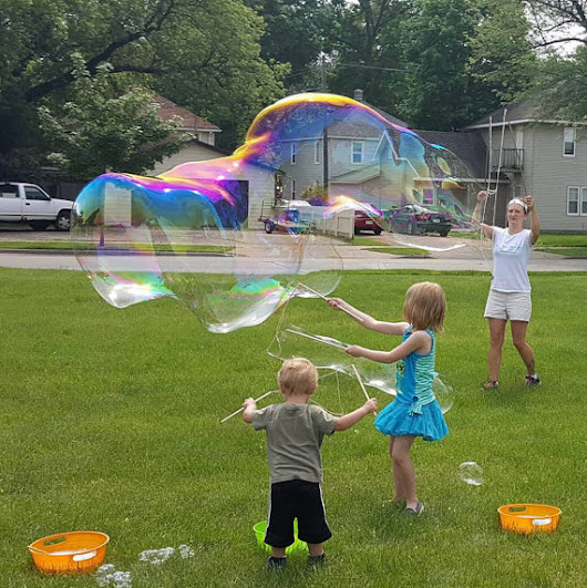 Large String Bubble Wand