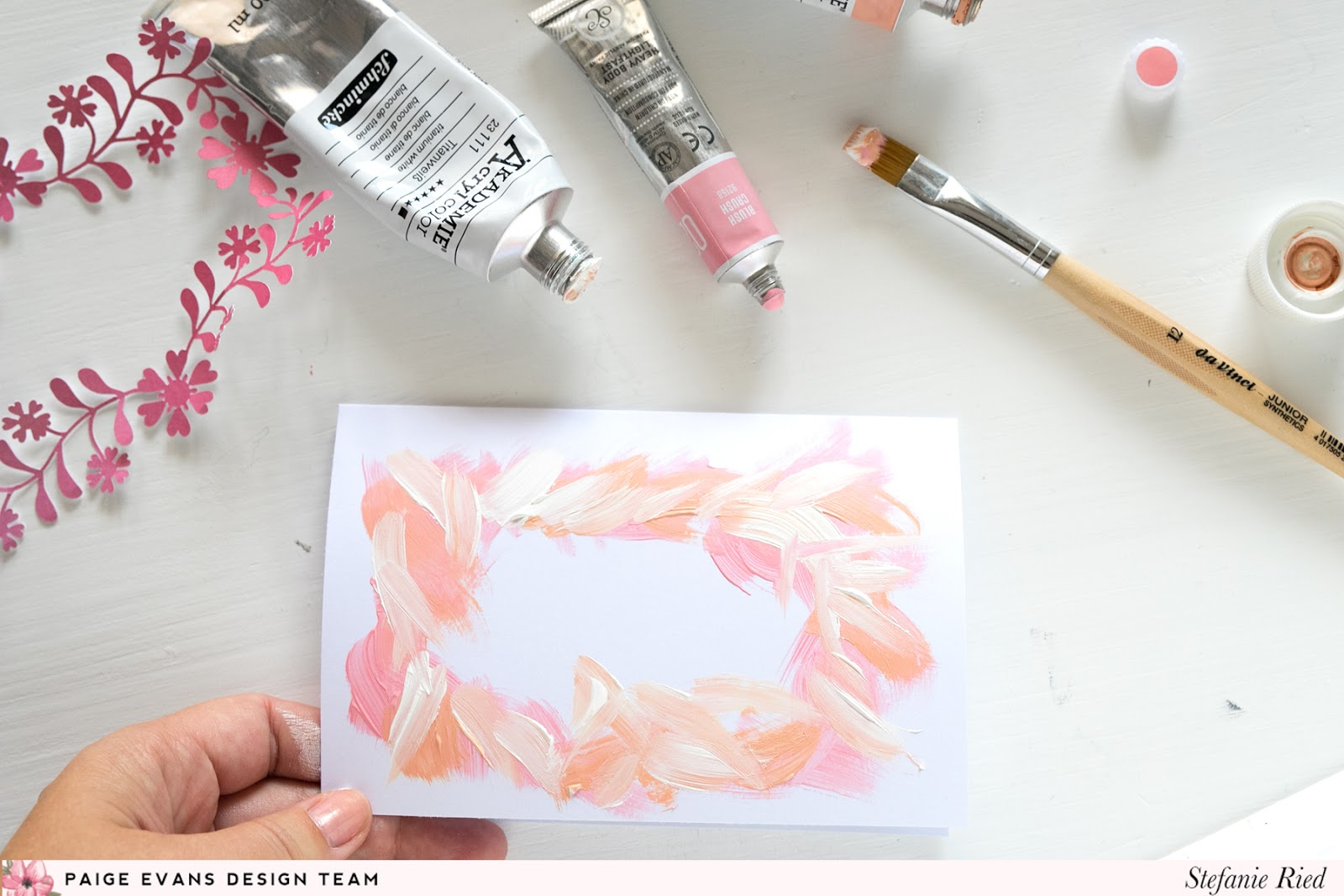 Pink Cards by Stefanie Ried | Paige Taylor Evans