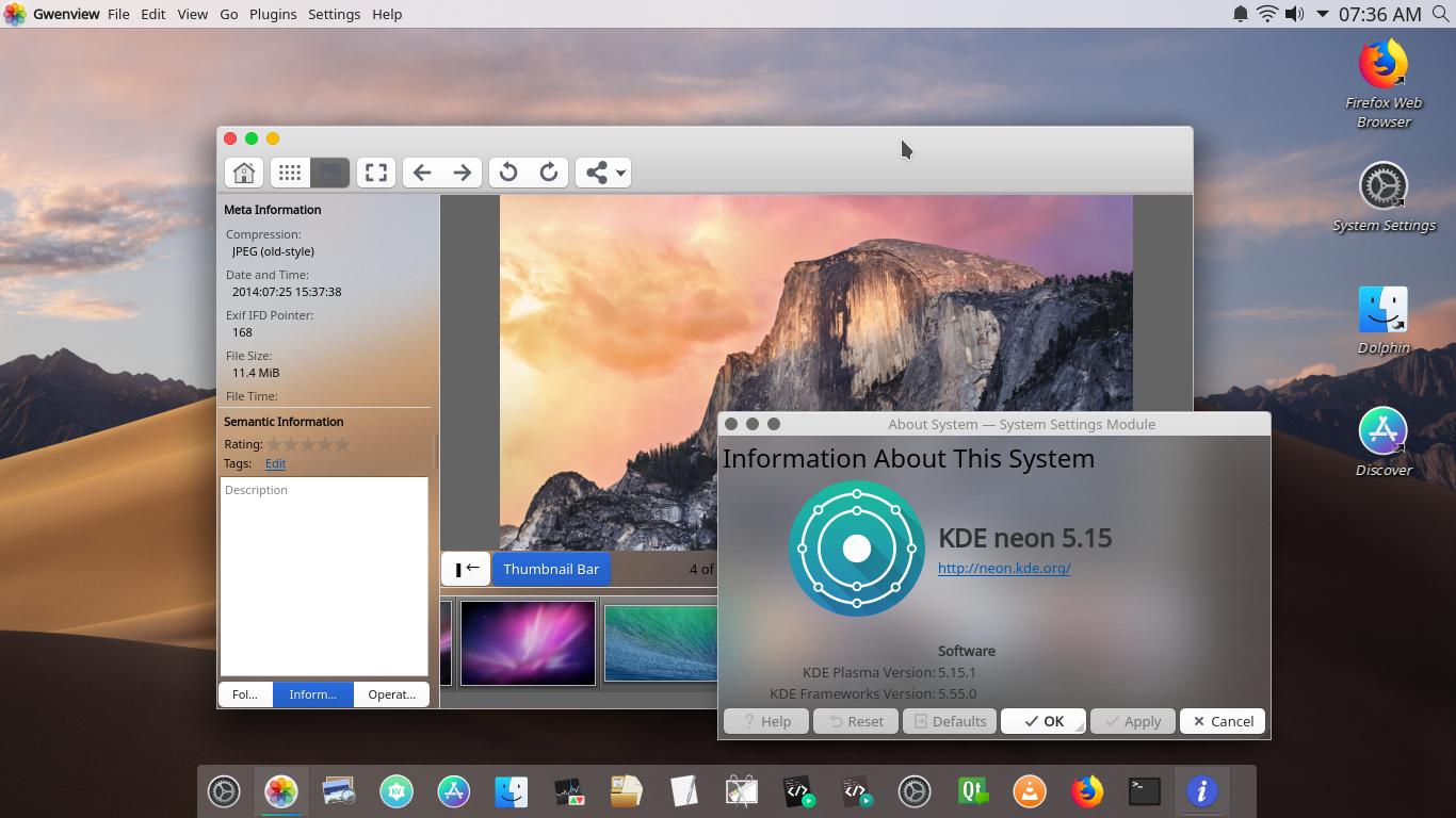Ubuntu Buzz !: KDE Plasma Desktop + Kvantum + Movaje-CT Themes