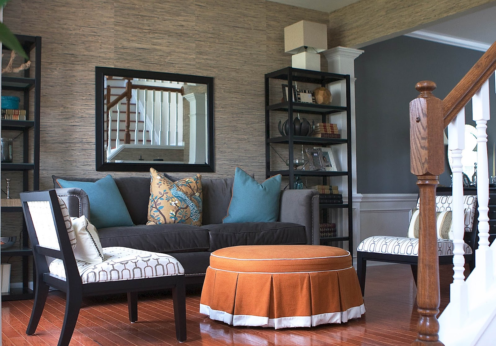 living room project bryn alexandra grasscloth living room project 11296