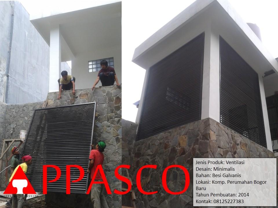 Teralis Ventilasi di Perumahan Bogor