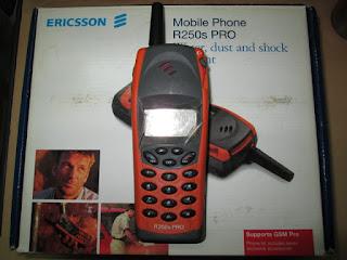 Hape Jadul Ericsson R250s Pro Seken Mulus Fullset Normal