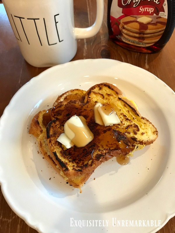 Five Minute French Toast