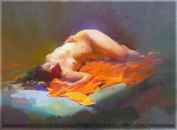 Figurative Paintings By Henry Yan