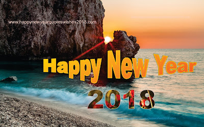 2018 New Year Wallpaper