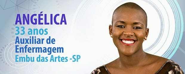 participants of BBB15: angélica