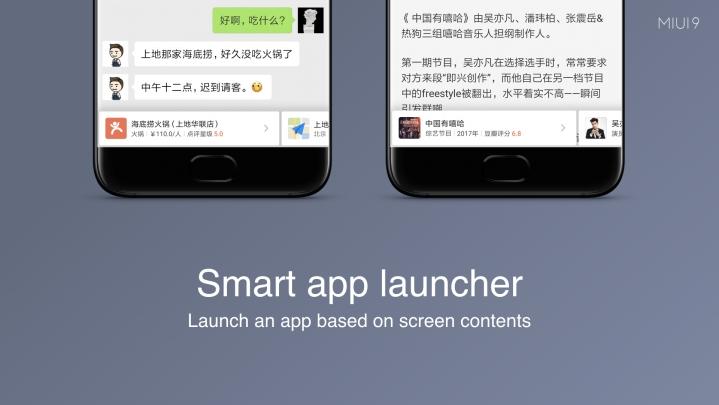 Fitur App Launcher di MIUI 9