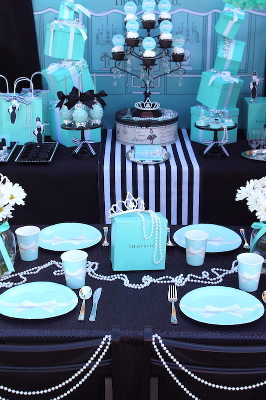 Laura S Little Party Breakfast At Tiffany S Inspired