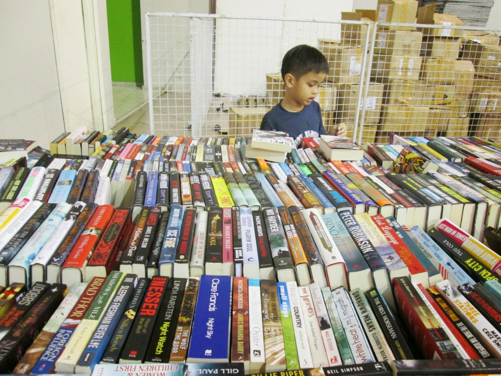 Big Bad Wolf Book Sale 2014