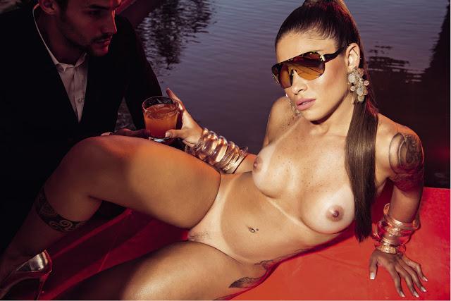 Rita Mattos gari gata nua pelada na playboy de setembro 17