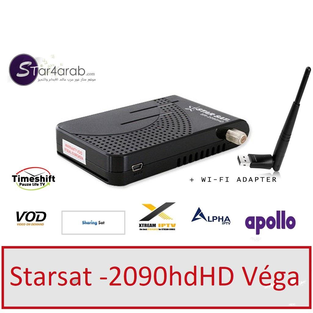 ملف قنوات جاهز ومرتب احسن ترتيب لجهاز Starsat sr-2090hd véga