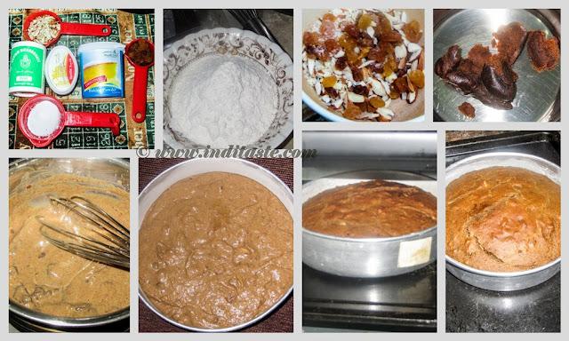 Dates Cake recipe preparation