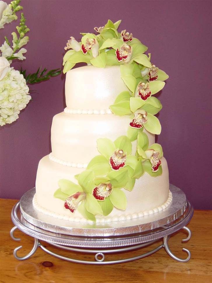 3 Teir Wedding Cakes Design Inspiration