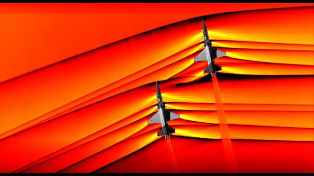 Εντυπωσιακές φωτογραφίες της NASA από αεροσκάφη που «σπάνε» το φράγμα του ήχου