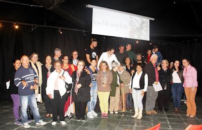 Saraus no Espaço Cultural, a casa da poesia em Ilha comprida