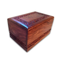Quality Wood Keepsake Cremation Box #qualitywoodurns