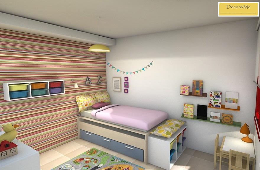Decor me decopedia 4 un proyecto de habitaci n infantil - Habitacion infantil compartida ...