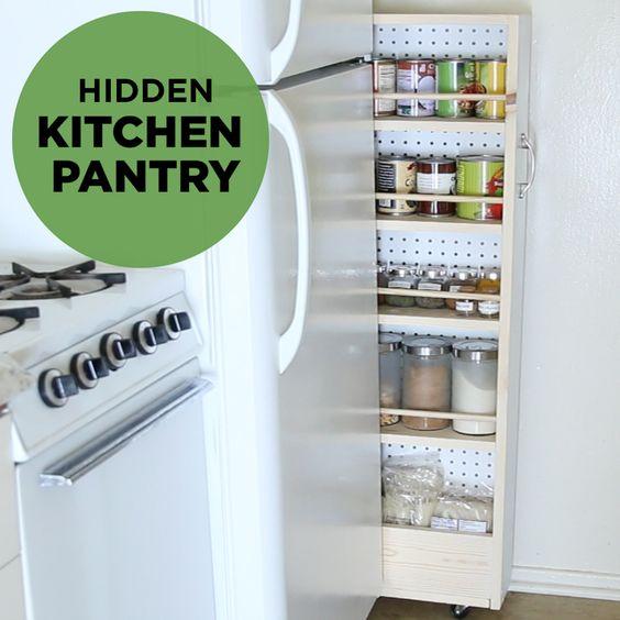 organizacja kuchni, organizacja przestrzeni, mała kuchnia organizacja, pomysły na kuchnię