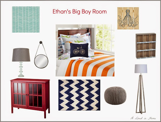 A Lived in Home: A Colorful Big Boy Room