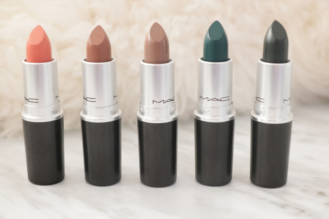 MAC colour rocker matte lipstick collection