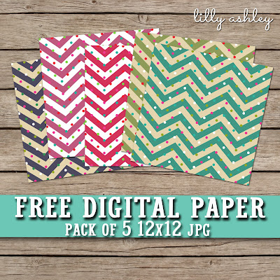 freebie digital paper lilly ashley