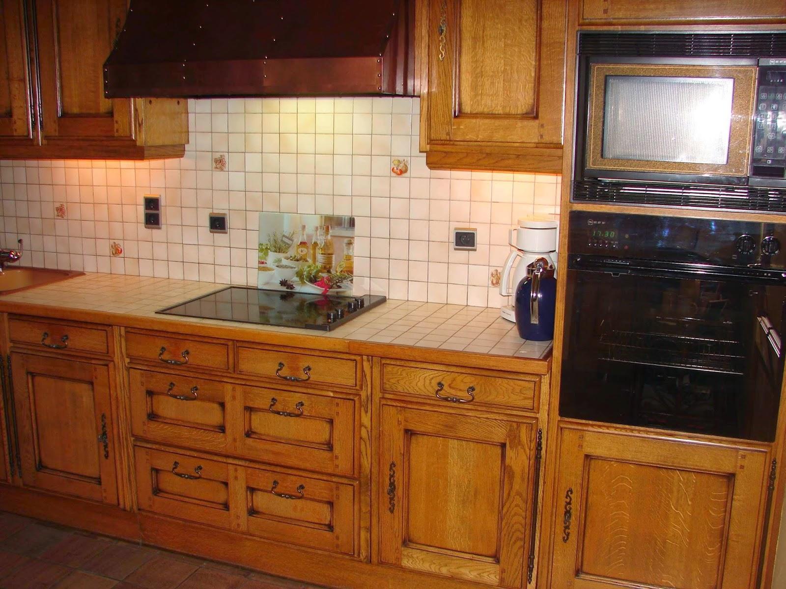 te renoveren eiken keuken