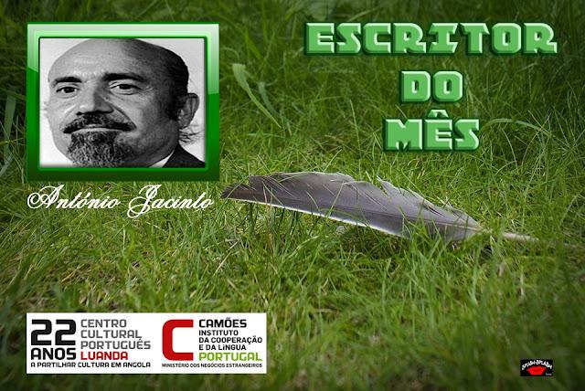 Escritor do Mês-António Jacinto