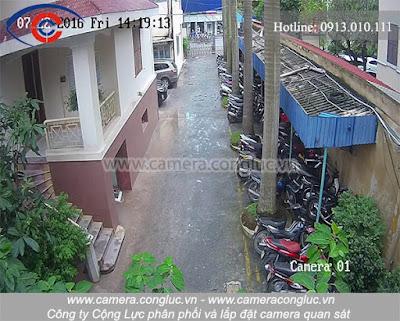 Hình ảnh thực tế chất lượng sản phẩm camera quan sát do Camera Cộng Lực cung cấp và lắp đặt cho khách hàng.