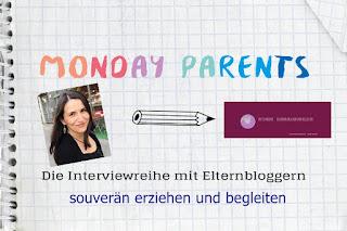 In der Interviewreihe Monday Parents erzählt Britta Menter von ihrer Arbeit als Online Elternberaterin, ihrem eigenen Familienalltag mit Frau und Kind und über das Schreiben auf ihrem Blog.