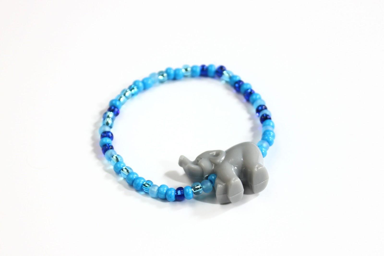 Seed Bead Animal Bracelets