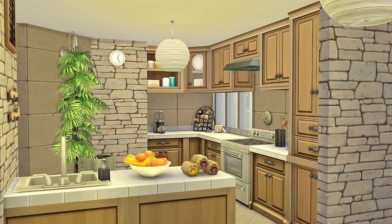 My Sims 4 Blog Rowan All In One Condo Room By Simkea