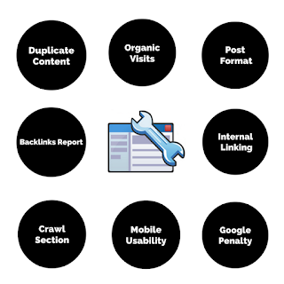 Features of google webmaster tools.