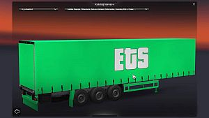Green ETS standalone trailer