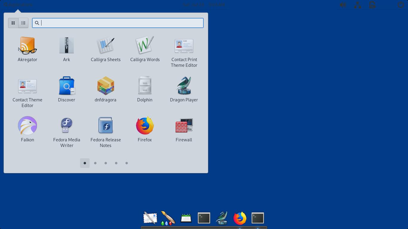 Pantheon Desktop on Fedora GNU/Linux