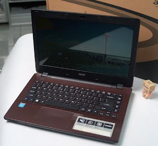 Laptop bekas Acer E5-411-C25C