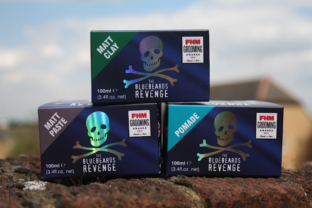 The Bluebeards Revenge - Clay, Paste & Pomade