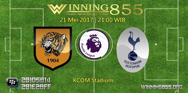 Prediksi Skor Hull City vs Tottenham Hotspur 21 Mei 2017