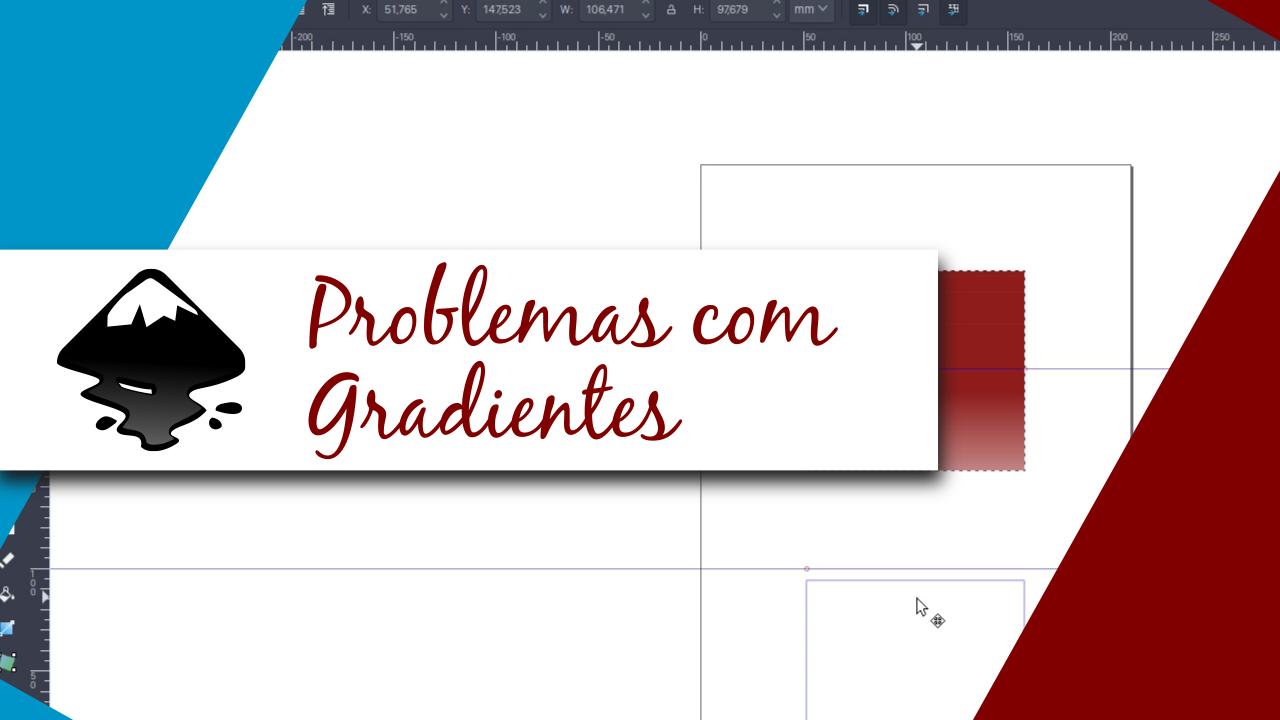 Resolvendo problemas com gradientes no inkscape