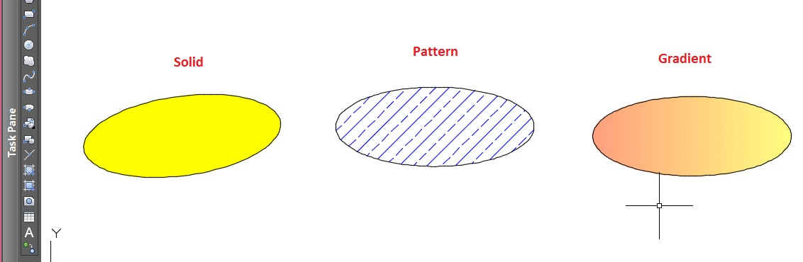 how to add hatch pattern in autocad 2017