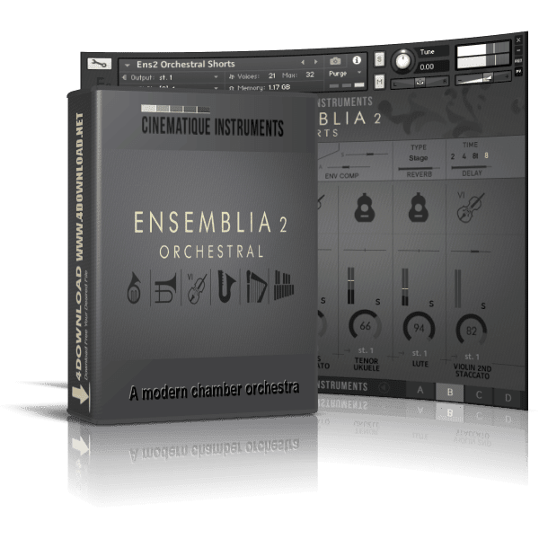 CINEMATIQUE INSTRUMENTS - Ensemblia 2 Orchestra KONTAKT Library